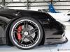 2011 black Porsche 911 Turbo cabriolet wallpapers