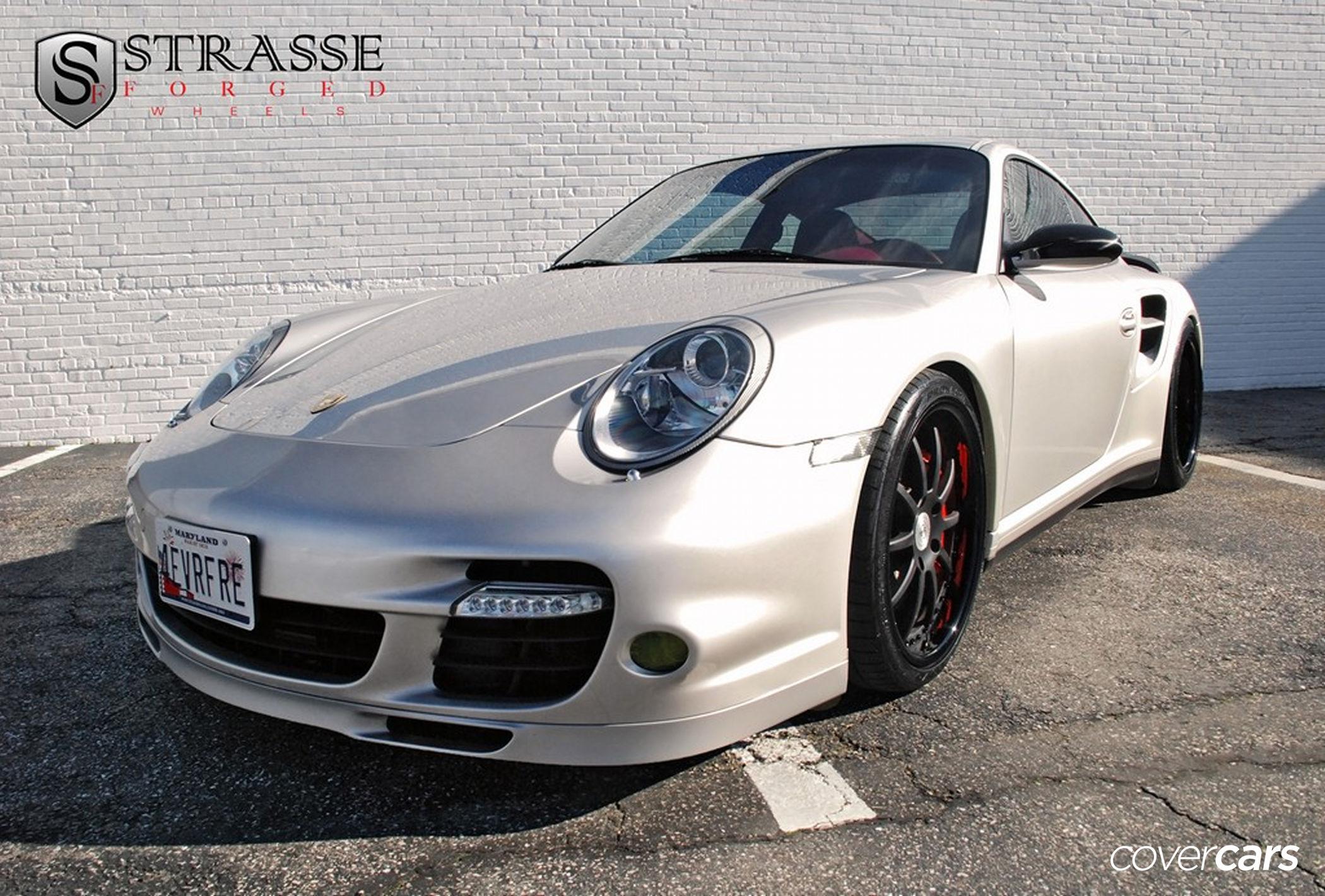 2011 silver Porsche 911 Turbo wallpapers