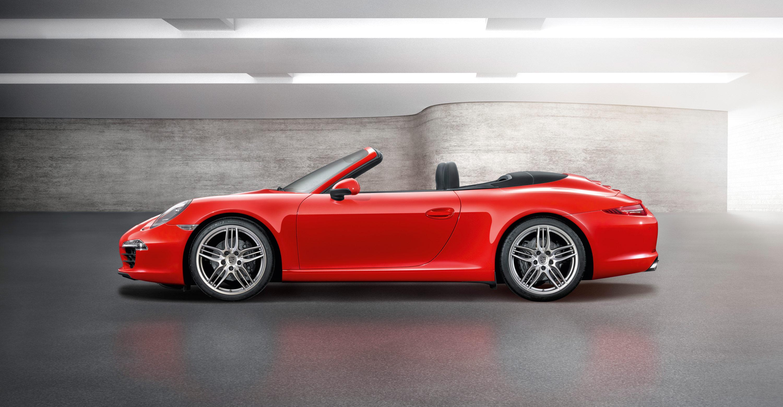 2012 Porsche 911 Carrera Cabriolet - Side view