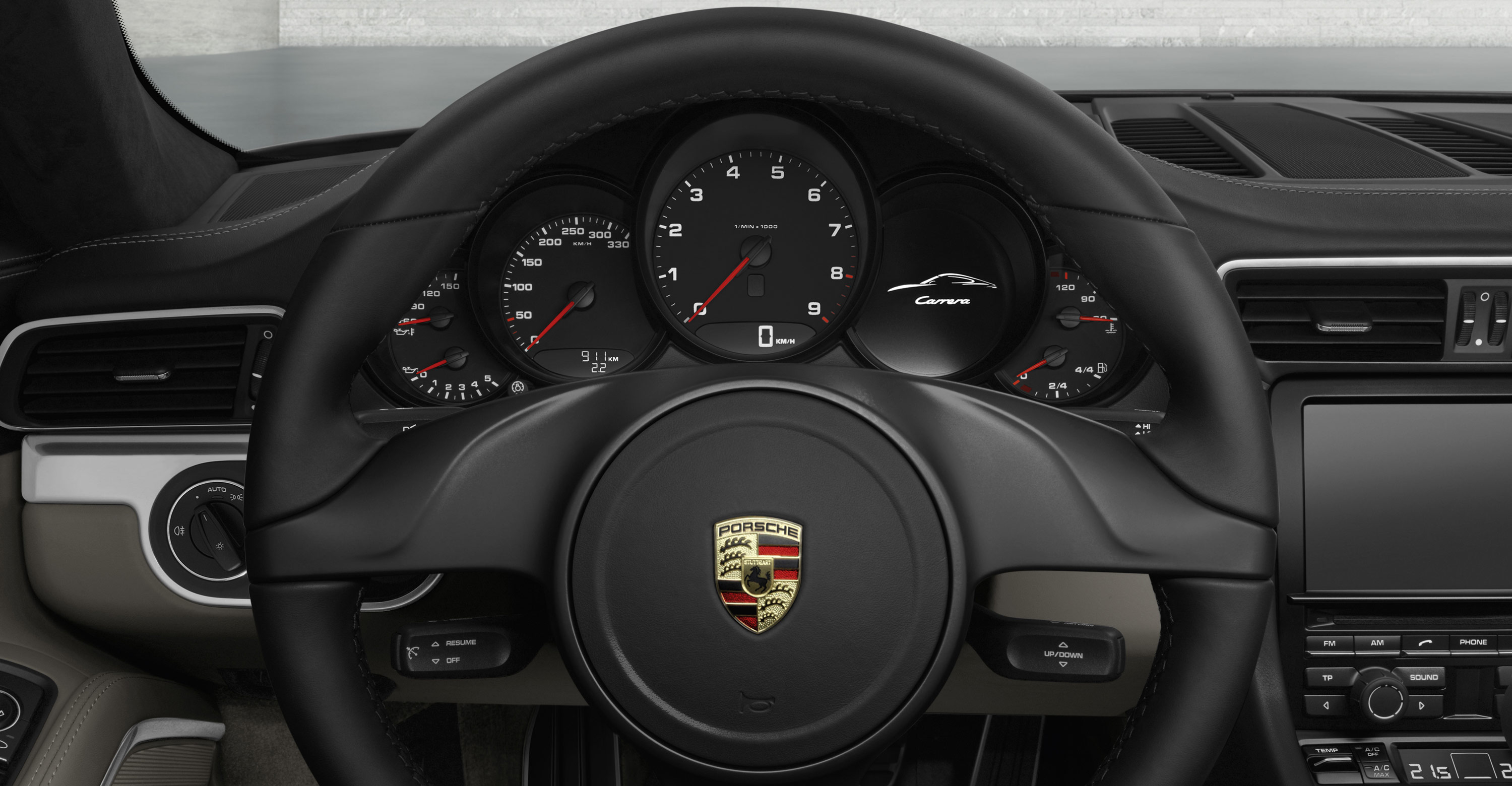2012 Porsche 911 Carrera Cabriolet - Interior, Steering wheel
