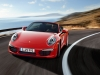 2012 Porsche 911 Carrera Cabriolet - Front angle view