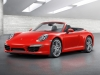 2012 Porsche 911 Carrera Cabriolet - Front angle side view