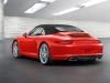 2012 Porsche 911 Carrera Cabriolet - Rear angle side view