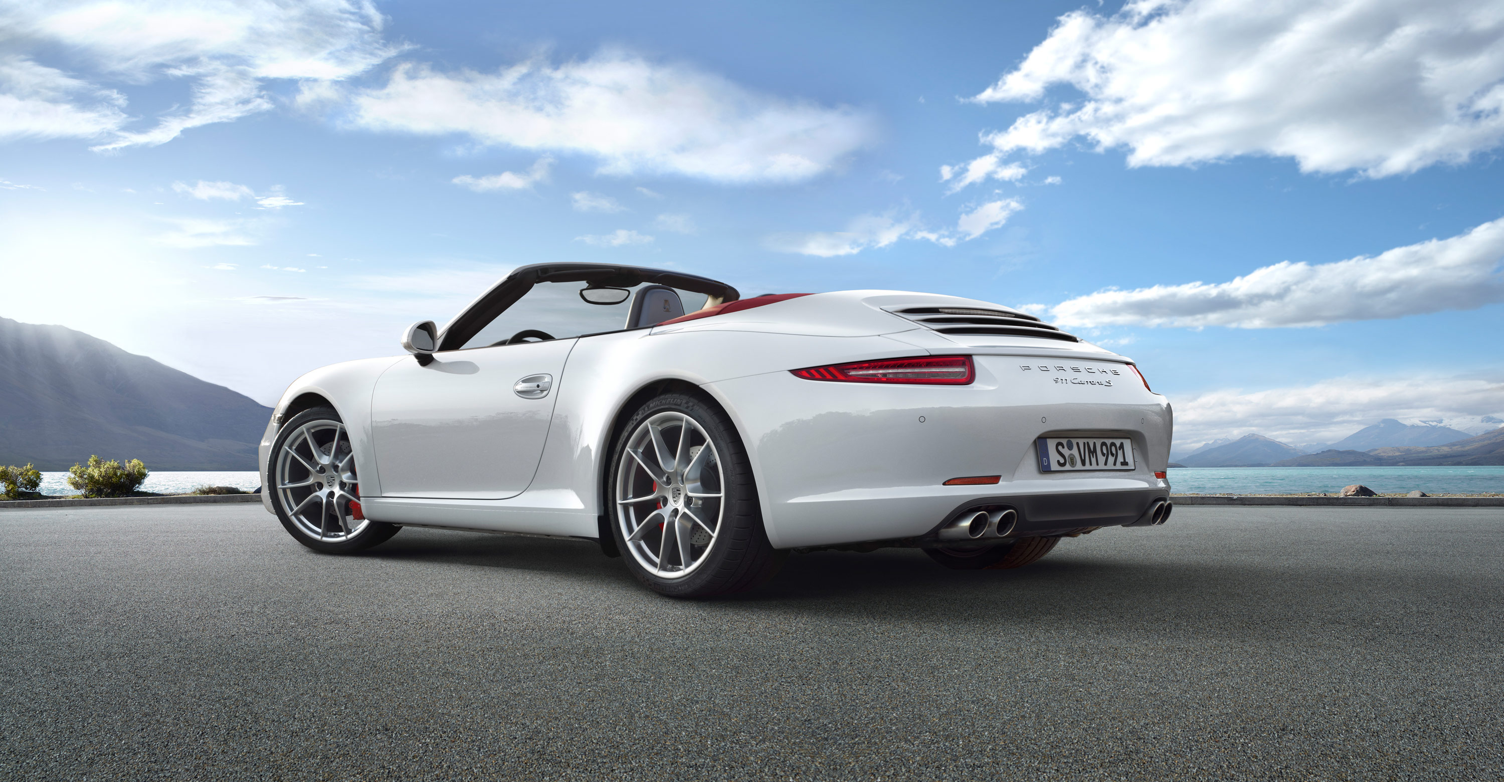 2012 white porsche 911 carrera s cabriolet wallpapers. Black Bedroom Furniture Sets. Home Design Ideas
