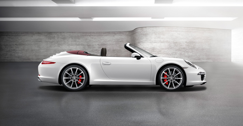 2012 White Porsche 911 Carrera S Cabriolet Wallpapers Porsche Mania