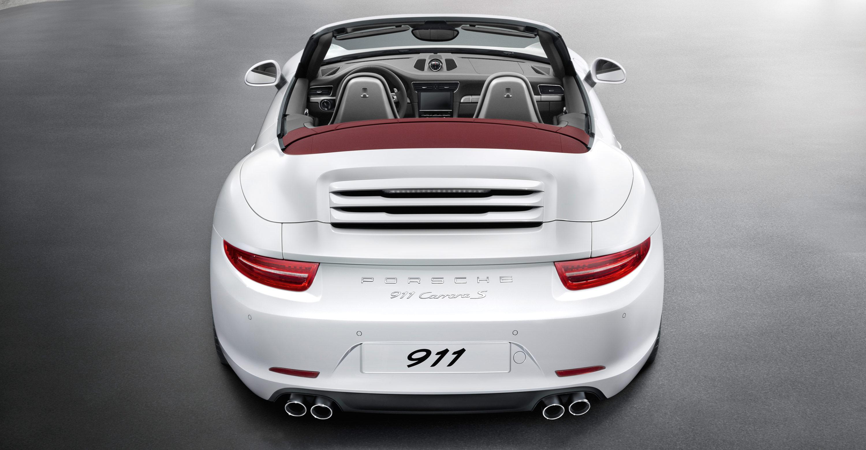 2012 Porsche 911 Carrera S Cabriolet - Rear viee