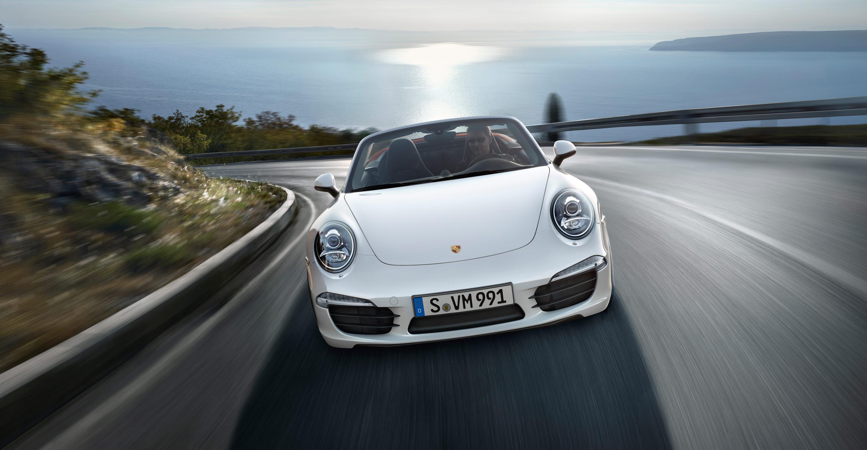 2012 Porsche 911 Carrera S Cabriolet - Front view