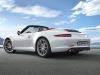 2012 Porsche 911 Carrera S Cabriolet - Rear angle side view