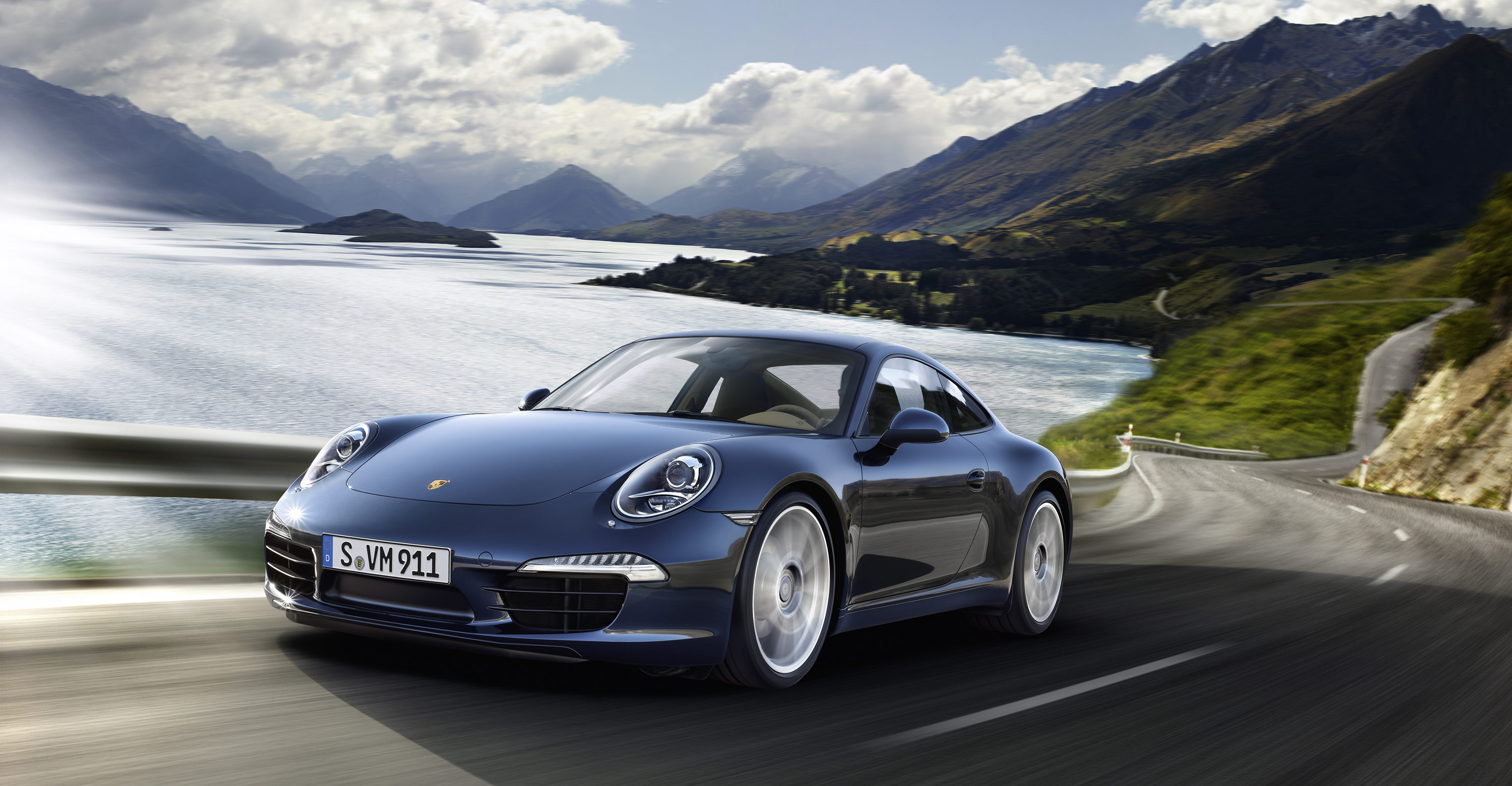2012 blue porsche 911 carrera s wallpapers. Black Bedroom Furniture Sets. Home Design Ideas