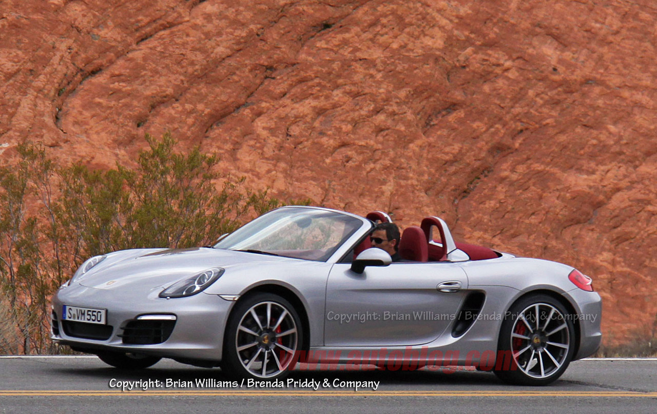 2012 Porsche Boxster (Porsche 981) Spy Shots