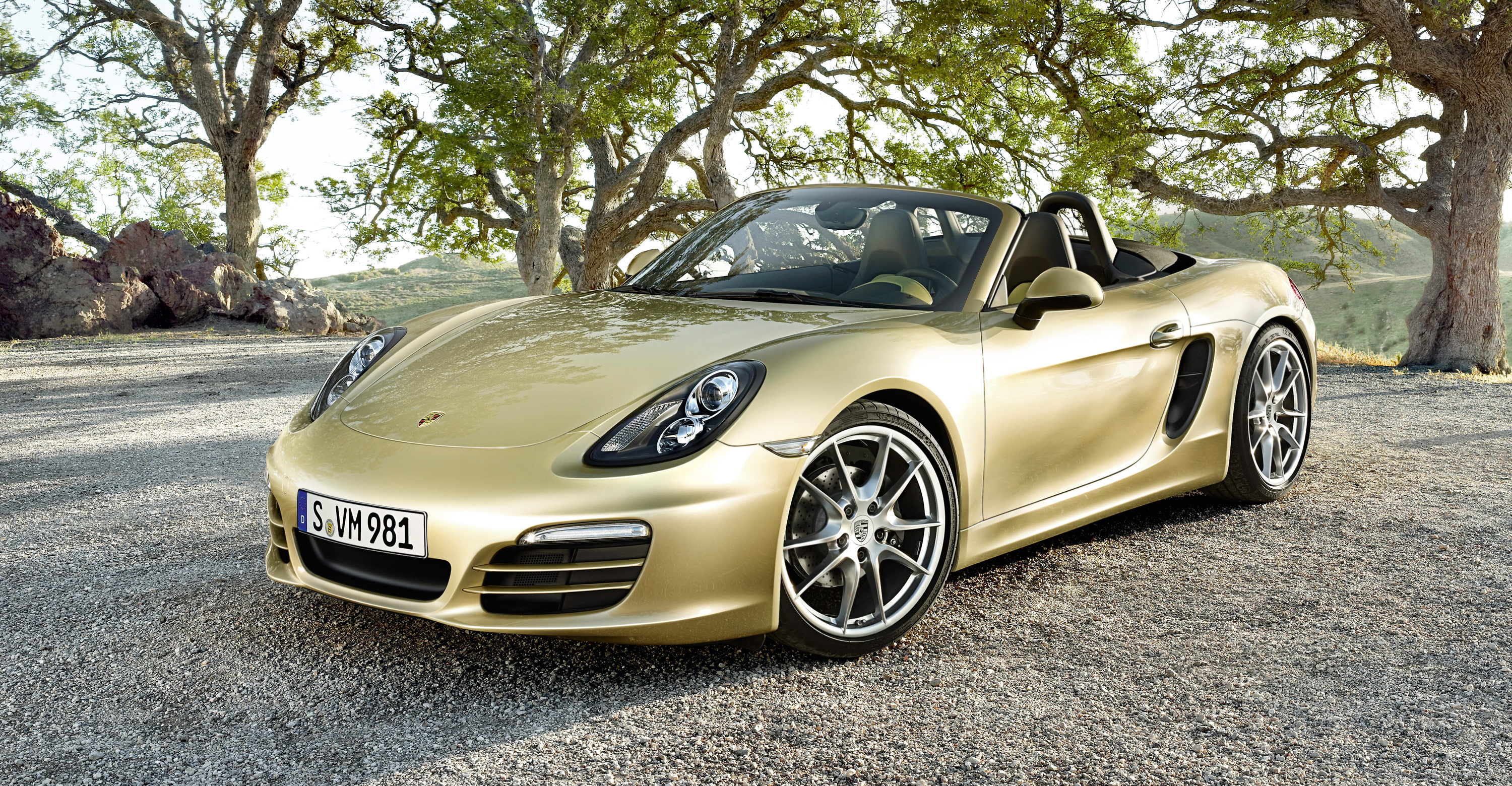 2012 Porsche Boxster - Front angle side view