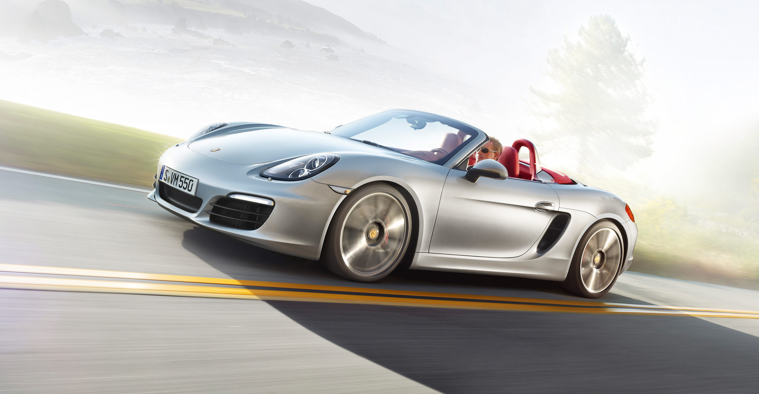 2012 Porsche Boxster S - Front angle side view