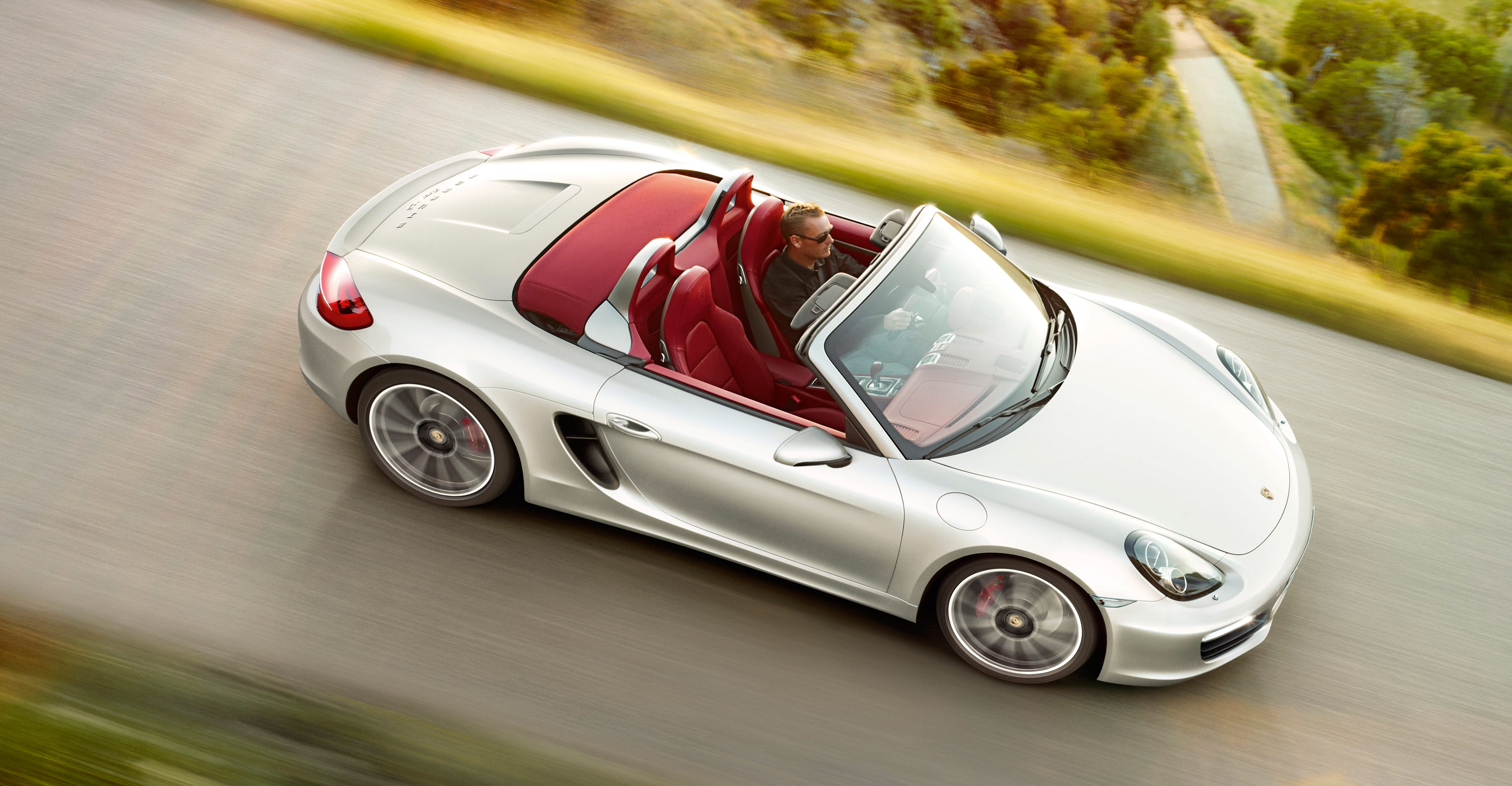 2012 Porsche Boxster S - Top side view
