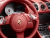 2012 Porsche Boxster S - Red interior, Steering wheel