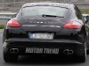 2012 Porsche Panamera facelift Rear view