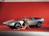 Car girl and Porsche Tapiro 1970