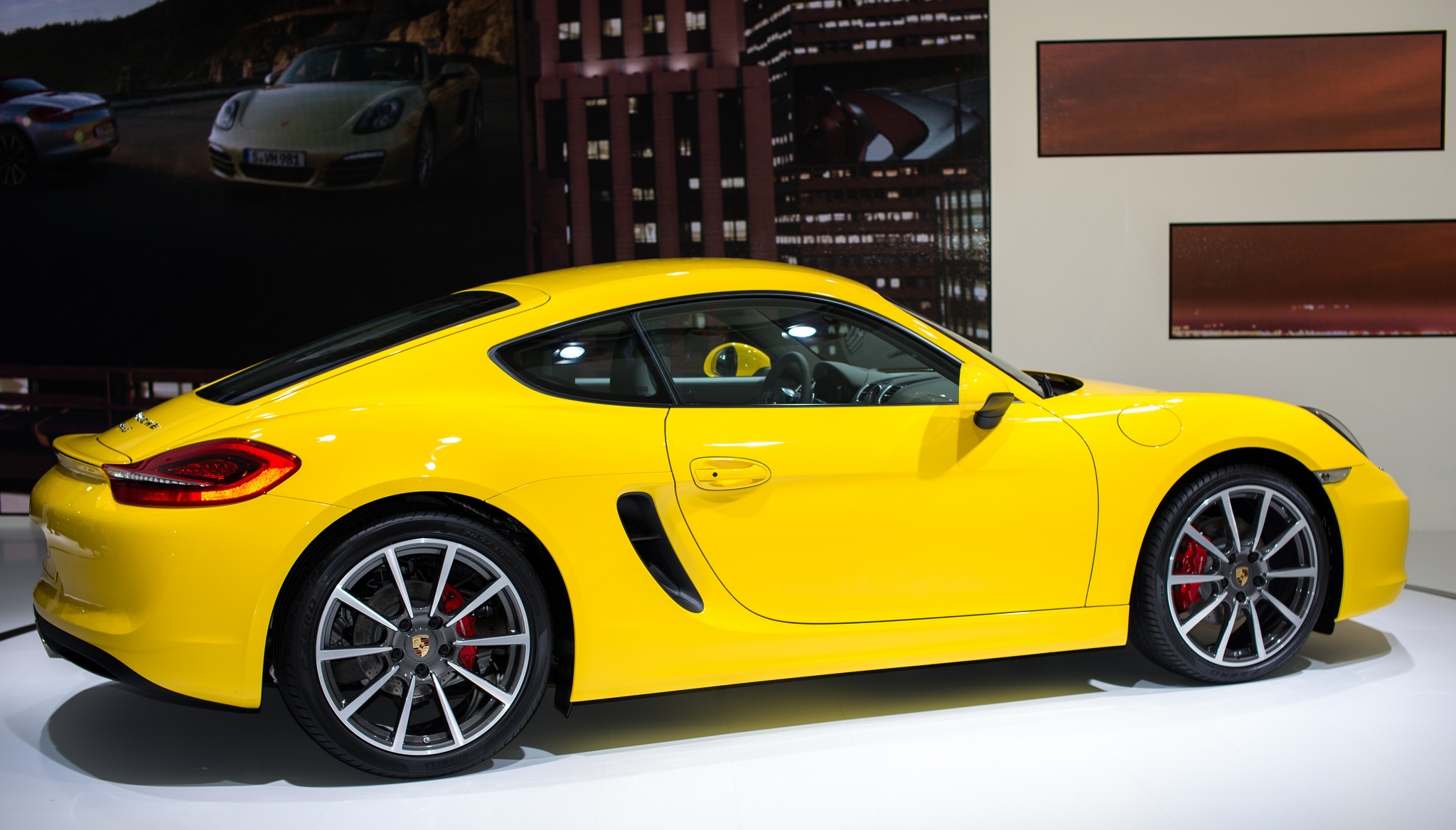 2013-porsche-cayman-yellow-2012-los-angeles-auto-show-by-dailyquota