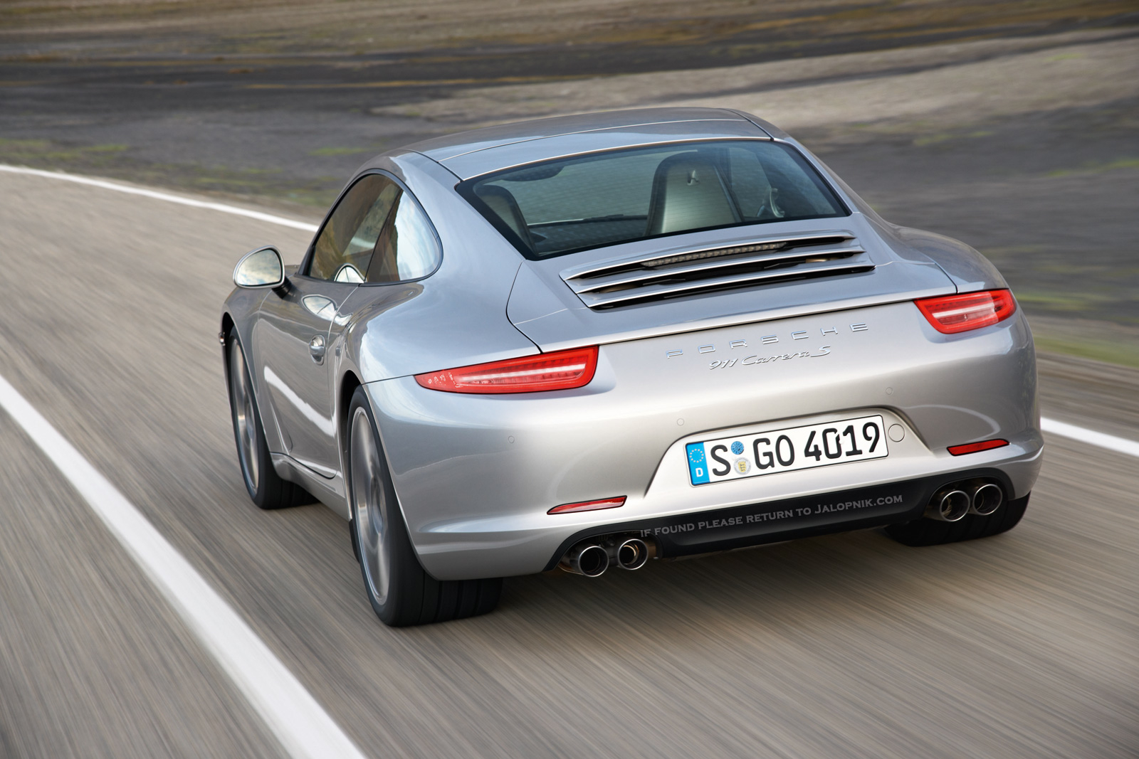 First Official New Porsche 911 Pictures Porsche 991