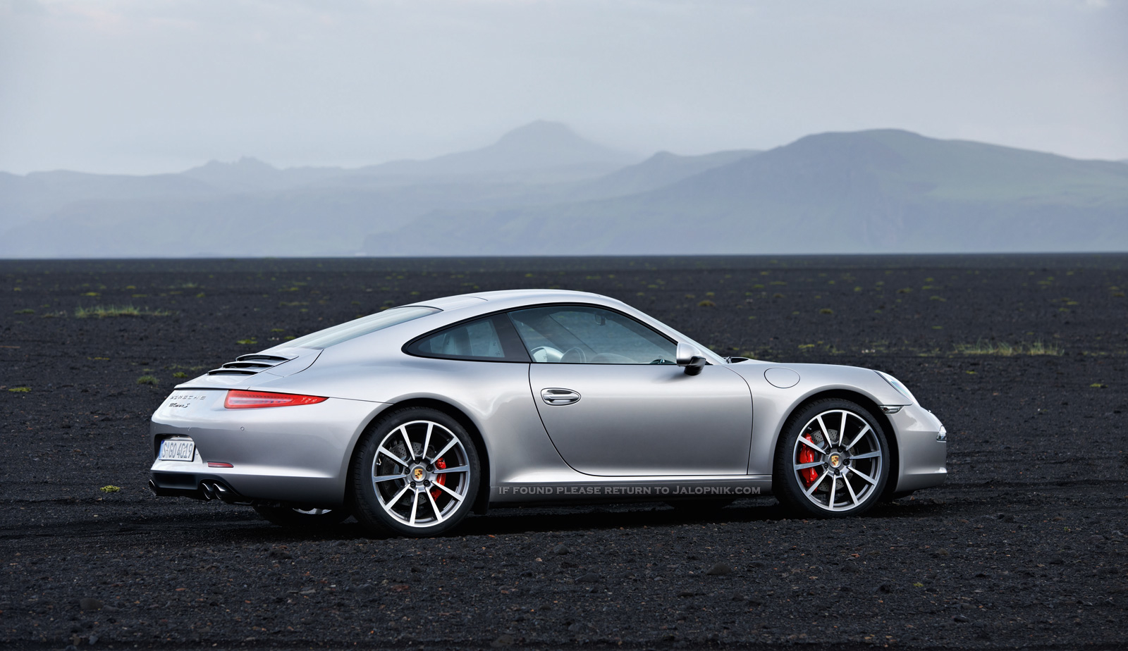 First Official New Porsche 911 Pictures (Porsche 991