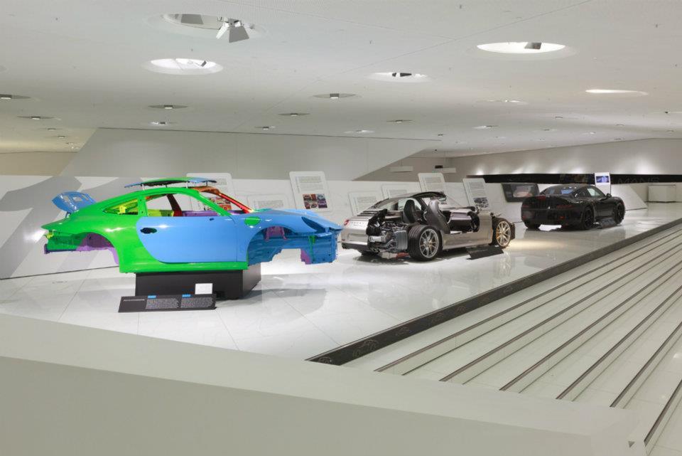Porsche 911 identity @ Porsche museum