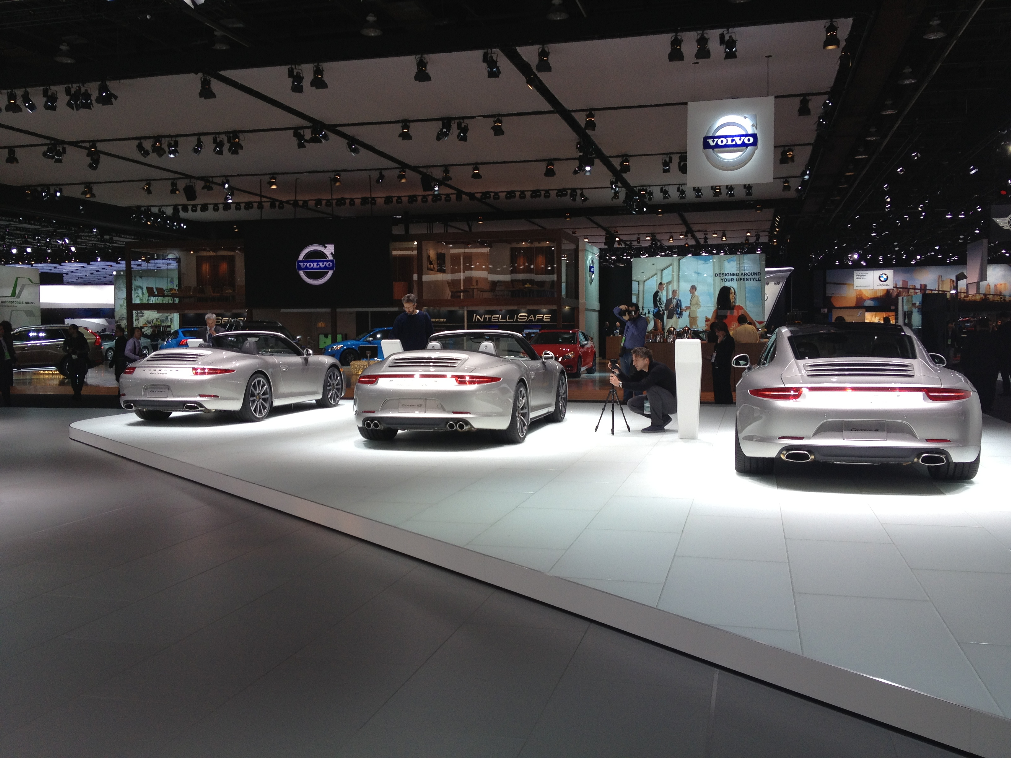 2013 Porsche 911 Carrera Cabriolet, Carrera 4S Cabriolet, and Carrera 4 at NAIAS 2013 By sarahlarson