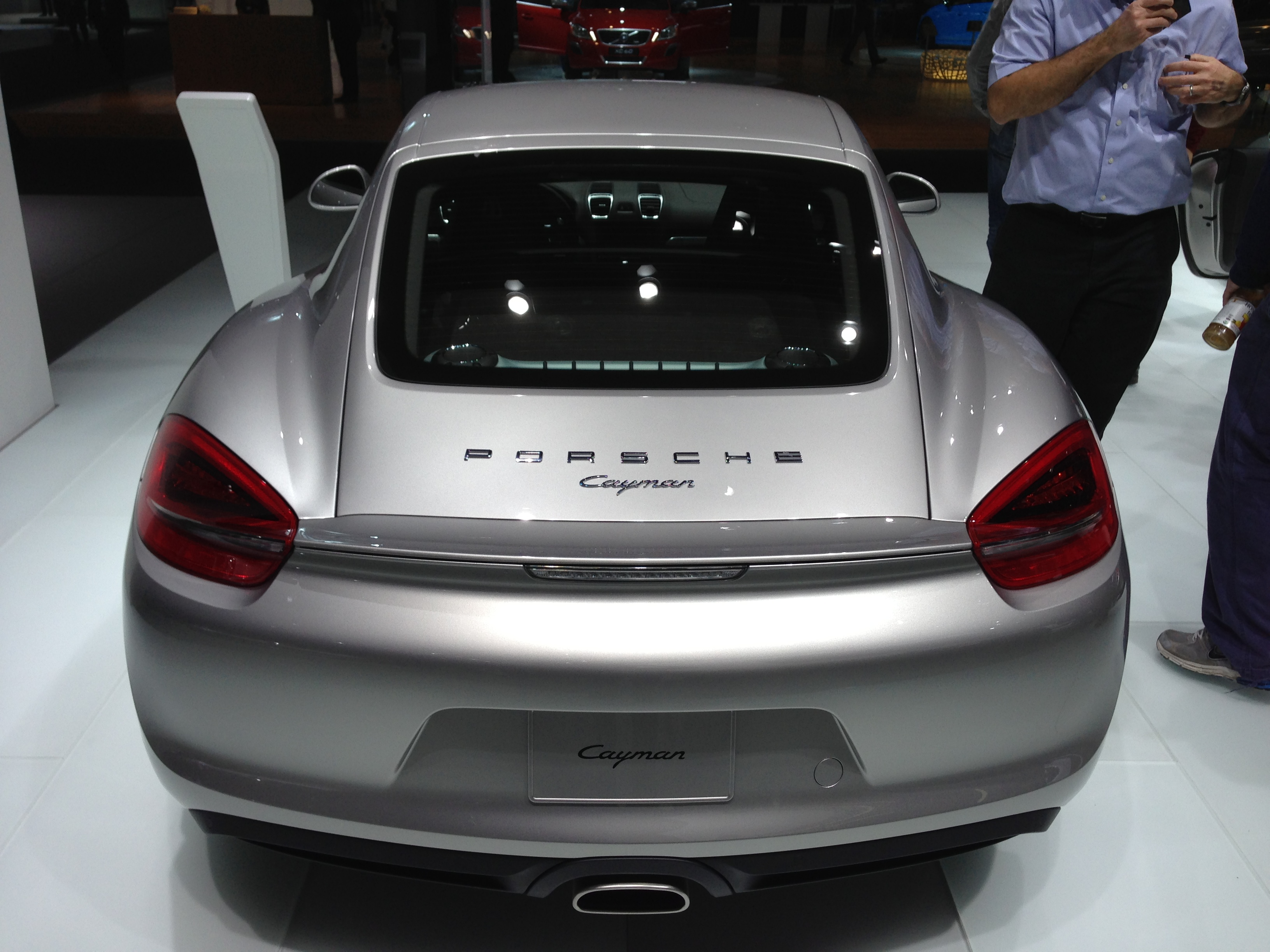 2013 Porsche Cayman at NAIAS 2013 By lotprocars