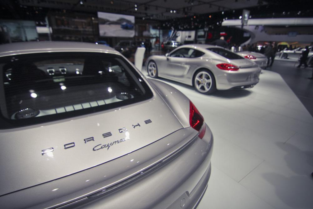 2013 Porsche Cayman at NAIAS 2013 By monarchydesign