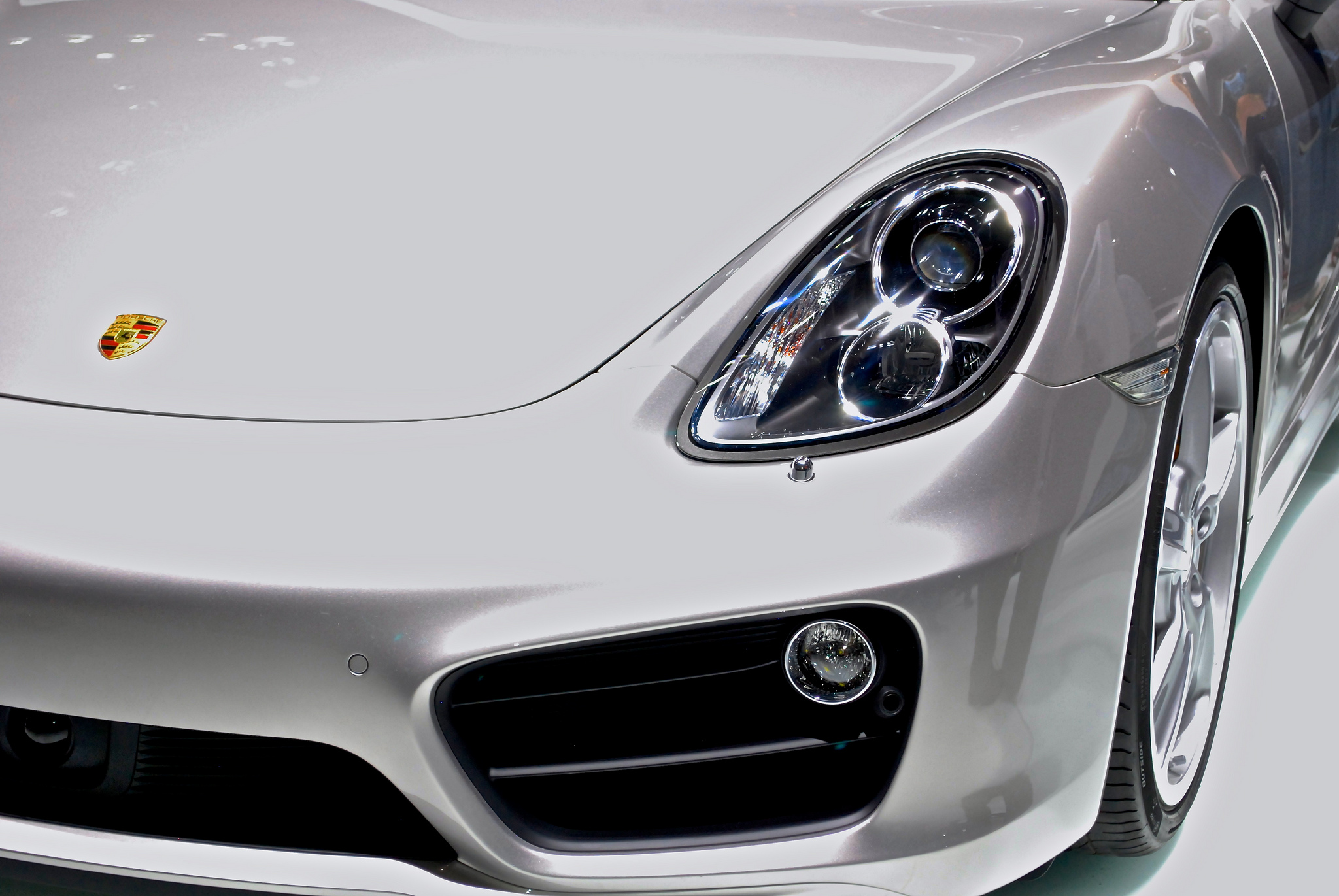 2013 Porsche Cayman at NAIAS 2013 By rbraughler