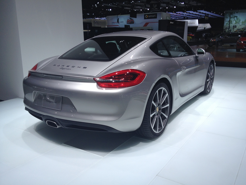 2013 Porsche Cayman at NAIAS 2013 By sarahlarson