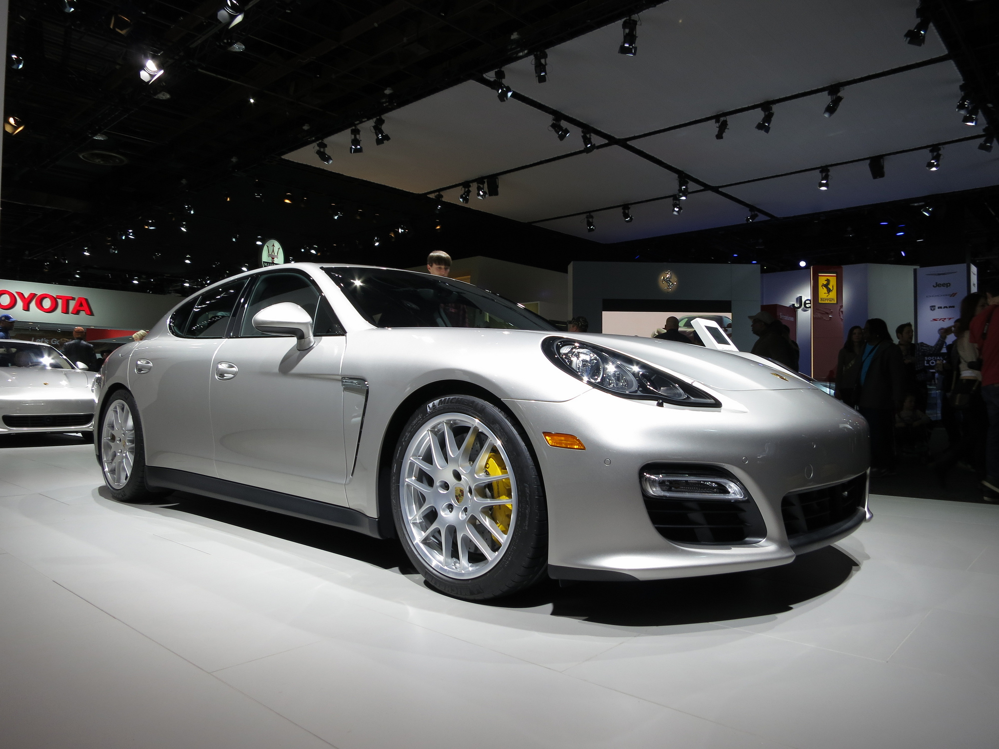 2013 Porsche Panamera at NAIAS 2013 By shaessig