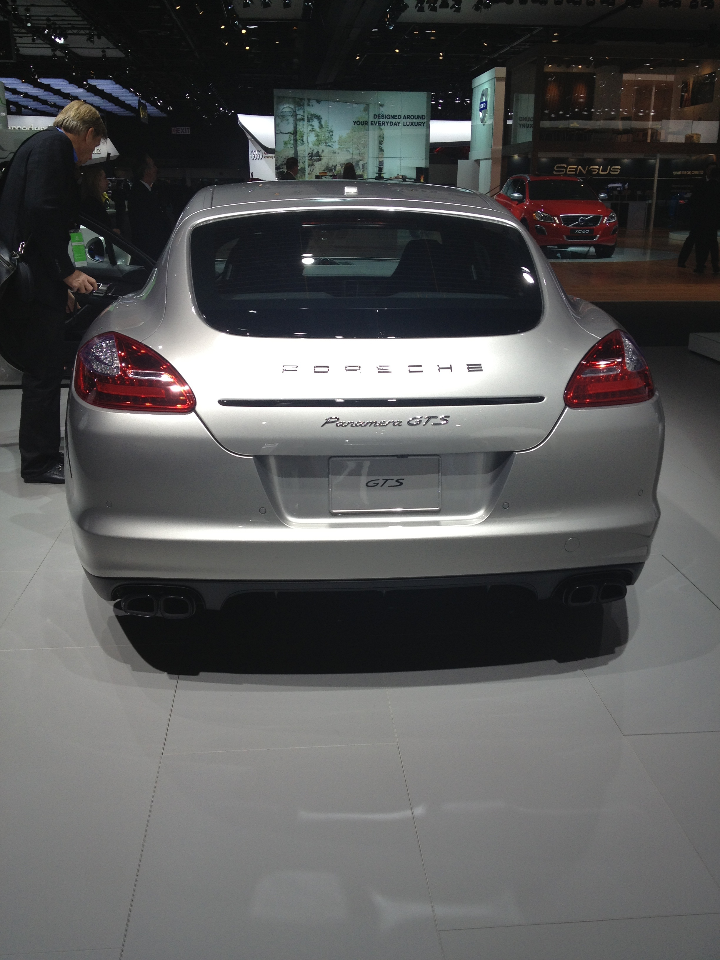 2013 Porsche Panamera GTS  at NAIAS 2013 By sarahlarson