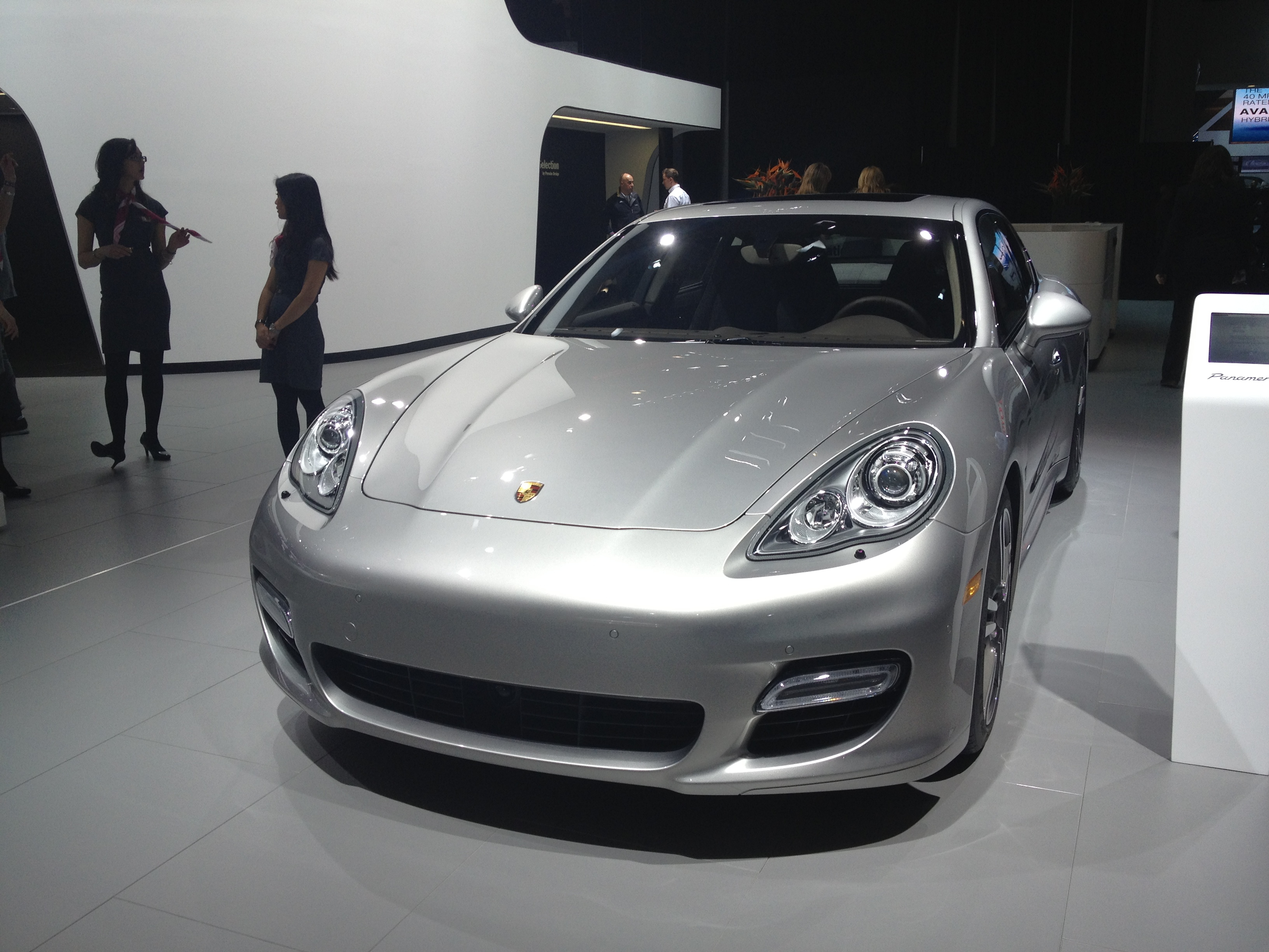 2013 Porsche Panamera Turbo S at NAIAS 2013 By sarahlarson