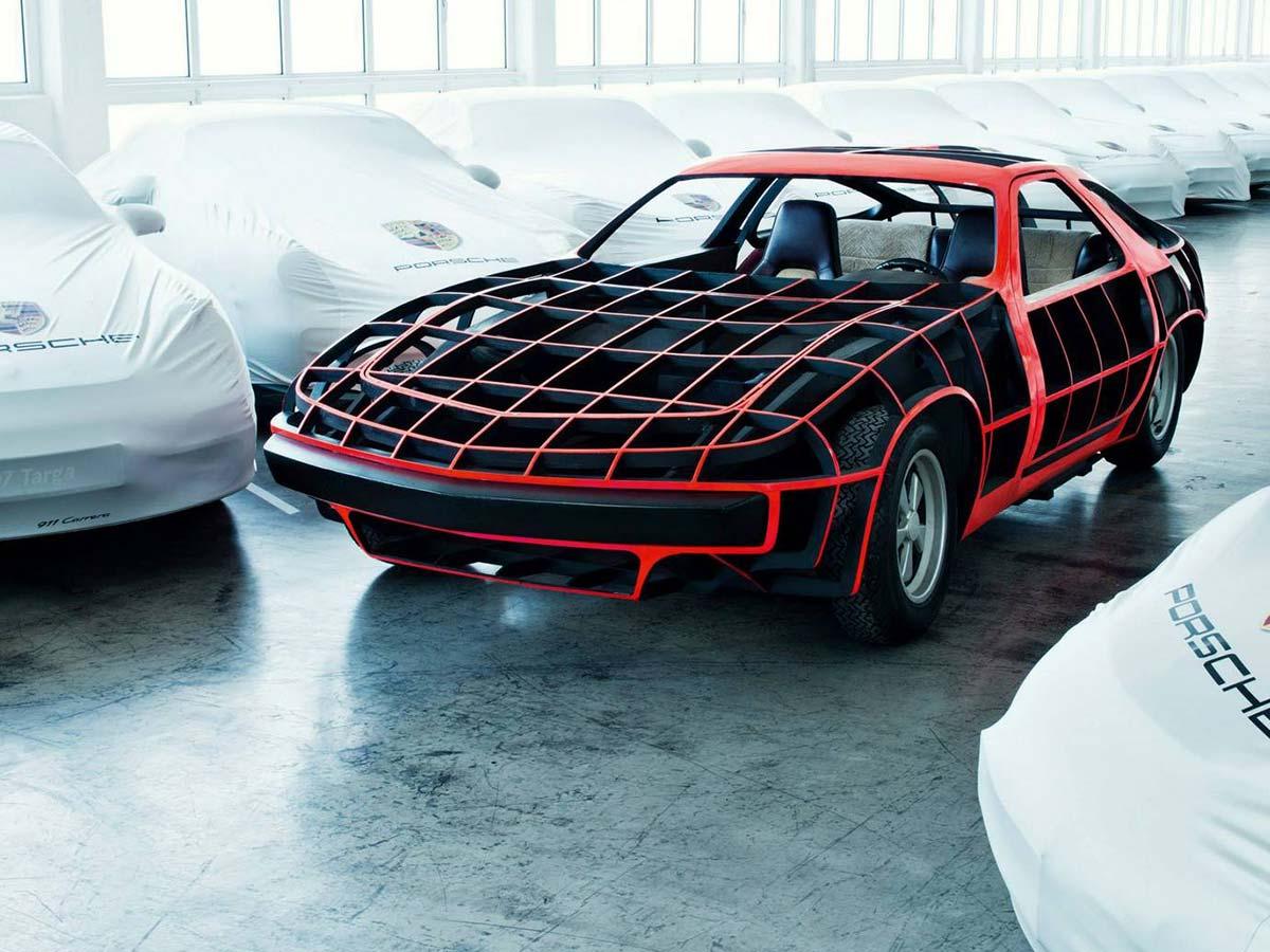 Porsche Museum: Porsche concepts / Top Secret!
