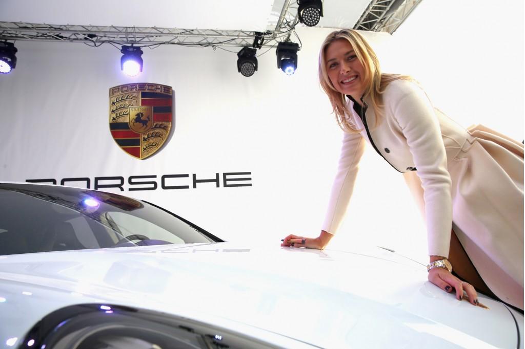 Porsche special edition Maria Sharapova Panamera GTS
