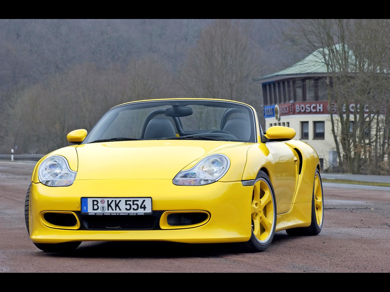 2004 TechArt Porsche Boxster Widebody