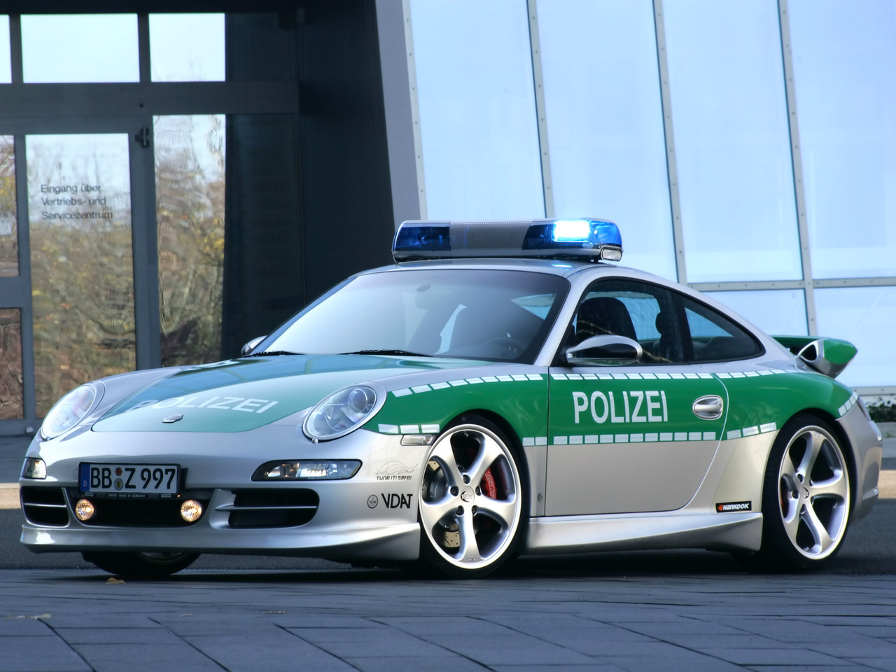 2005 TechArt 911 Carrera Police car porsche