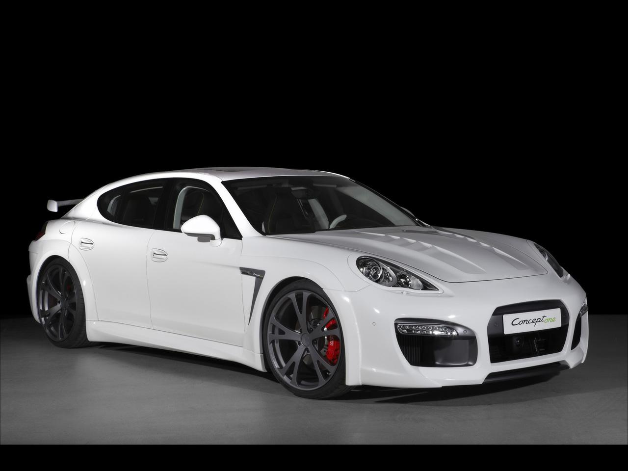 2010 TechArt Porsche Panamera Concept one