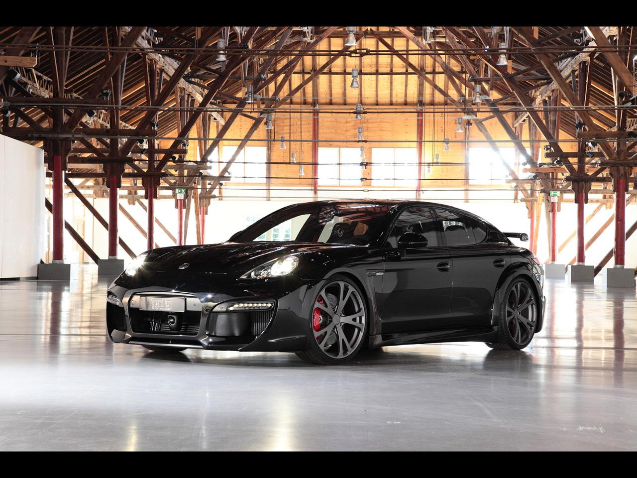 2011 Techart Porsche Panamera Grand GT Carbon kit