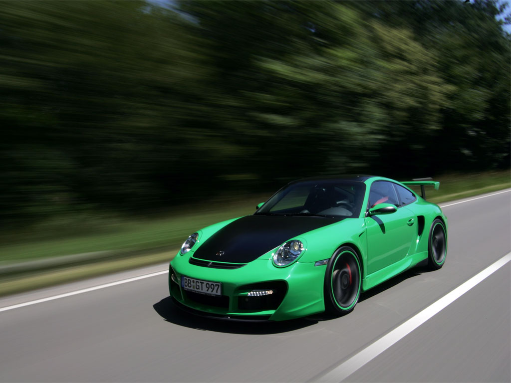 Porsche TechArt GT Street 911 Turbo
