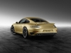The new 911 Turbo by Porsche Exclusive in Lime Gold Metallic