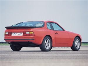 1982 Red Porsche 944