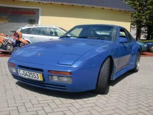 1986 Blue Strosek Porsche 944 Turbo Targa