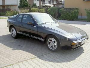1987 Black Porsche 944S