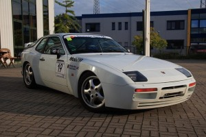 1987 White Porsche 944 Turbo Cup