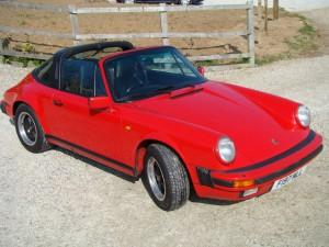 1988 Porsche 911 3.2 Carrera Targa