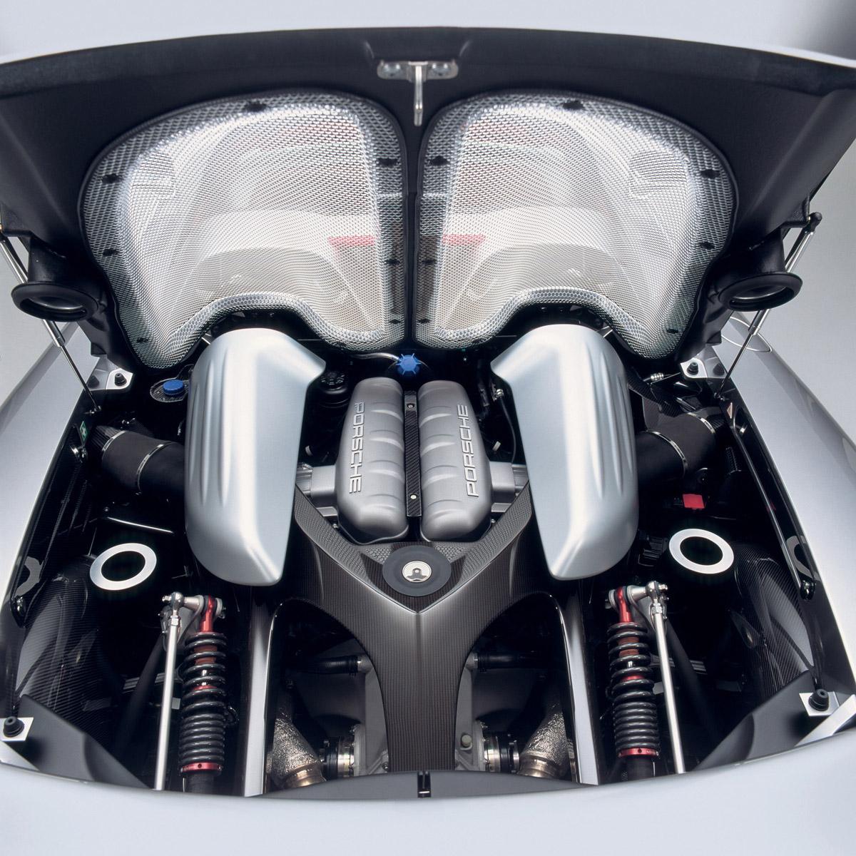 Porsche Carrera gt Interior Porsche Carrera gt Rear View