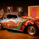 Janis Joplin's 1965 Porsche 356 Convertible Side view