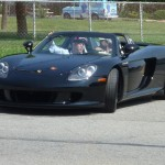Jerry Seinfeld's Porsche Carrera GT Front angle view