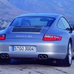 Porsche 997 911 Carrera C4S wallpaper Rear view