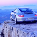 Porsche 997 911 Carrera C4S wallpaper Rar angle view